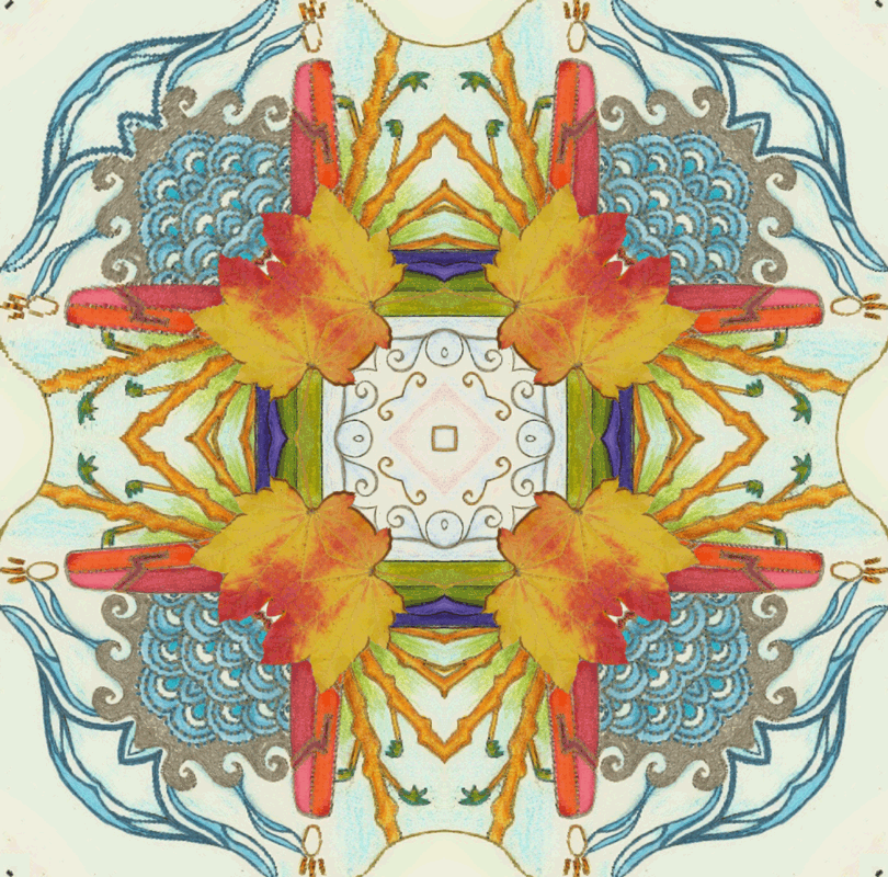 Four Seasons Mandala by Kimm Kirikao
