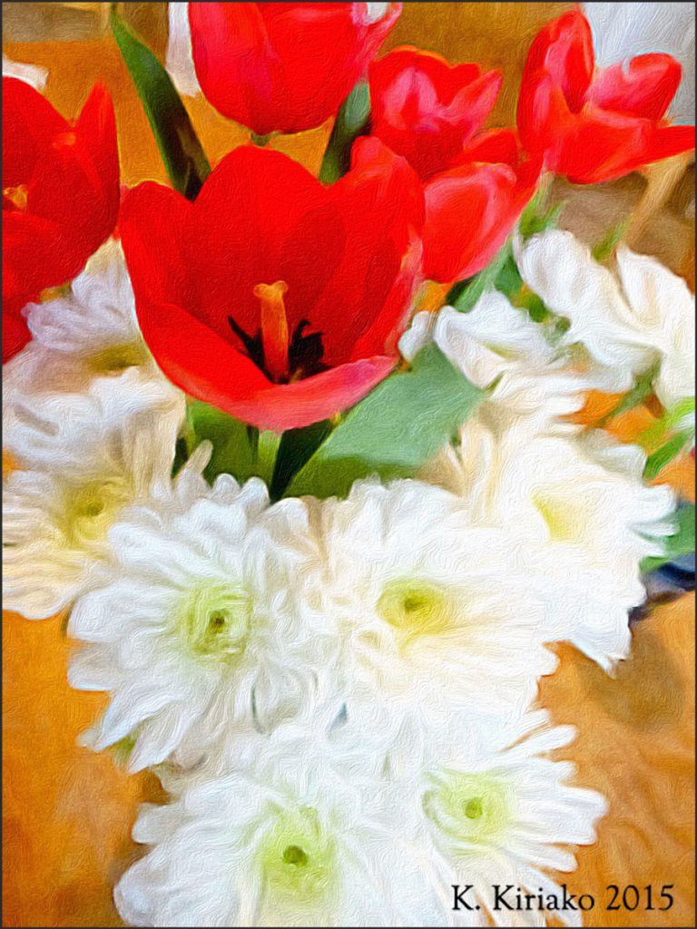 Tulips and Mums