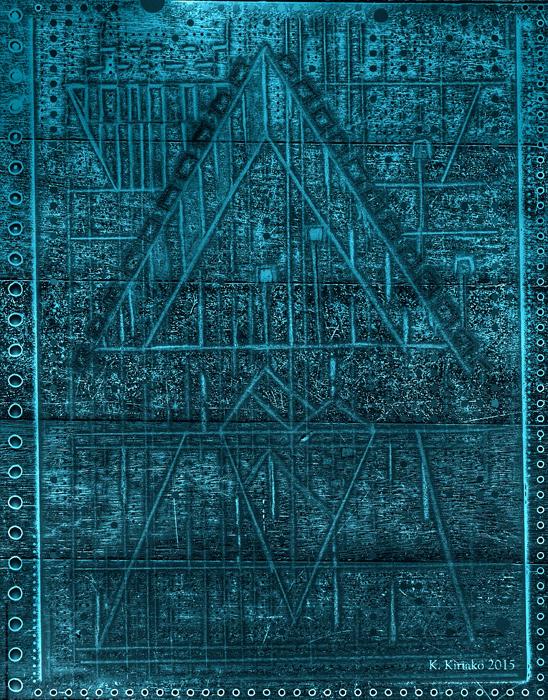 Turquoise Pyramid