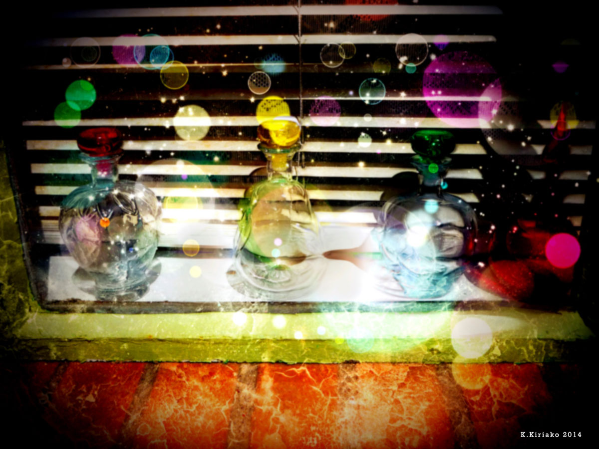 Beads of light